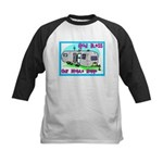 God Bless Our Mobile Home Kids Baseball Jersey