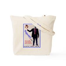 Earth Head RogerART.com Tote Bag