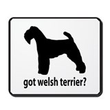 Got Welsh Terrier? Mousepad