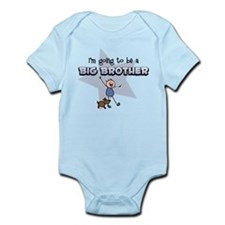 Stick Boy Future Big Brother Infant Bodysuit