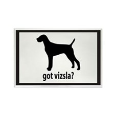 Got Vizsla? Rectangle Magnet
