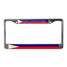 Philippines Filipino Flag License Plate Frame