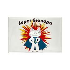 Super Grandpa Rectangle Magnet
