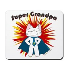 Super Grandpa Mousepad