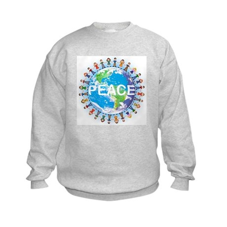 KIDS World Peace Sweatshirt ( t-shirts too!)