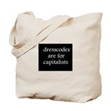 Anti-Capitalism Tote Bag