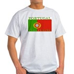 Portugal Portuguese flag Ash Grey T-Shirt