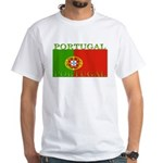 Portugal Portuguese flag White T-Shirt