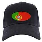 Portugal Portuguese flag Black Cap