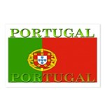 Portugal Portuguese flag Postcards (Package of 8)