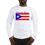 Puerto Rico Rican Flag Long Sleeve T-Shirt