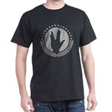 Vulcan Hand Greeting 1c T-Shirt