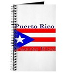 Puerto Rico Rican Flag Journal