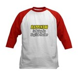 """Happiness...English Teacher"" Tee"