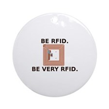 Be RFID Keepsake (Round)