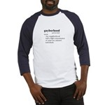 GAYBORHOOD / Gay Slang Baseball Jersey