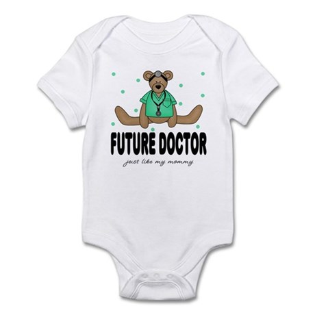 Future Doctor Like Mommy Baby Infant Bodysuit