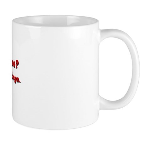 Lower Back Tattoo Mug