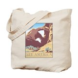 Arches National Park WPA Poster Tote Bag
