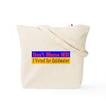 Don't Blame ME-BG Tote Bag