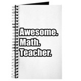 Funny math teacher Journals