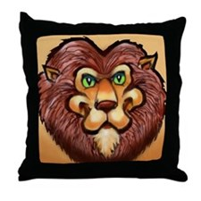 Cool Lion king Throw Pillow