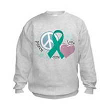 Ovarian Cancer PLC Sweatshirt