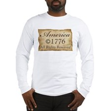Copyright 1776 Long Sleeve T-Shirt