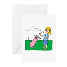 Picky Golfer Greeting Cards (Pk of 10)