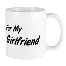 I Wear Blue Girlfriend Colon Cancer Mug