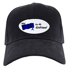 I Wear Blue Girlfriend Colon Cancer Cap