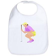 Woman Golfer Bib
