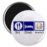 "Eat, Sleep, Baseball 2.25"" Magnet (100 pack)"