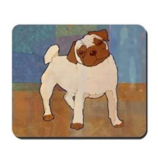Pug Moment Mousepad