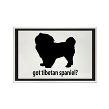 Got Tibetan Spaniel? Rectangle Magnet