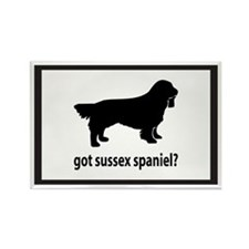 Got Sussex Spaniel? Rectangle Magnet