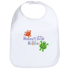 Mommy's little Monster Bib