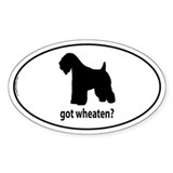 Got Wheaten? Oval Bumper Stickers