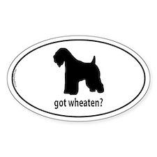 Got Wheaten? Oval Decal