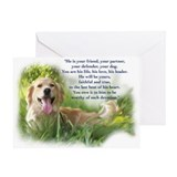 Rainbow Bridge Poem Greeting Card