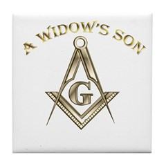 A Widows Son Tile Coaster
