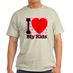I Love My Kids Light T-Shirt