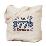 1776 Freedom Americana Tote Bag