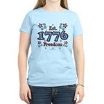 1776 Freedom Americana Women's Light T-Shirt