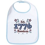 1776 Freedom Americana Bib