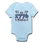 1776 Freedom Americana Infant Bodysuit