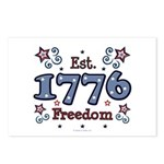 1776 Freedom Americana Postcards (Package of 8)