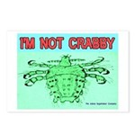 Crabby Crab Louse Crabs Postcards (Package of 8)