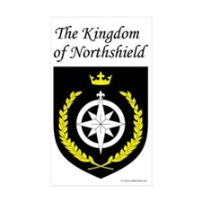 Kingdom of Northshield Rectangle Sticker 50 pk)