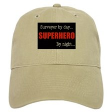 Superhero Surveyor Baseball Cap